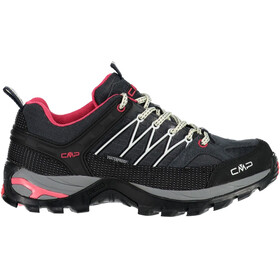 CMP Campagnolo Rigel Low WP Chaussures de trekking Femme, antracite-off white